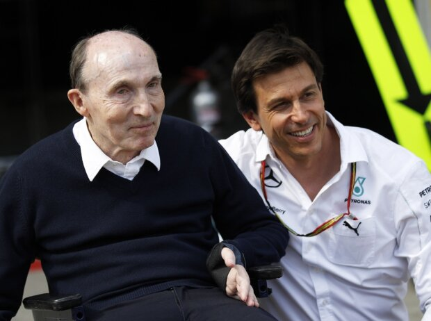Frank Williams, Toto Wolff