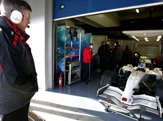 Jenson Button, Ross Brawn