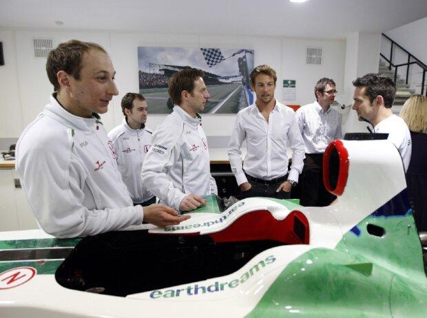 Jenson Button, Brackley