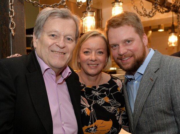 Norbert Haug, Sabine Kehm und Peter Lauterbach