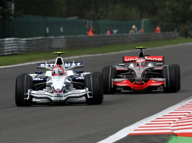 Heikki Kovalainen, Robert Kubica