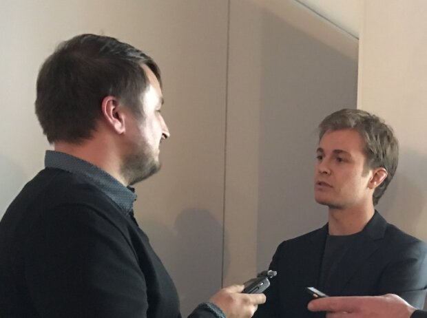 Christian Nimmervoll und Nico Rosberg