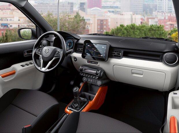 Innenraum und Cockpit des Suzuki Ignis 2017