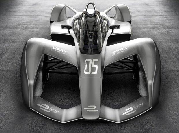 Formel-E-Bolide ab 2018