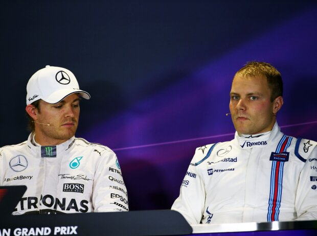 Nico Rosberg, Valtteri Bottas