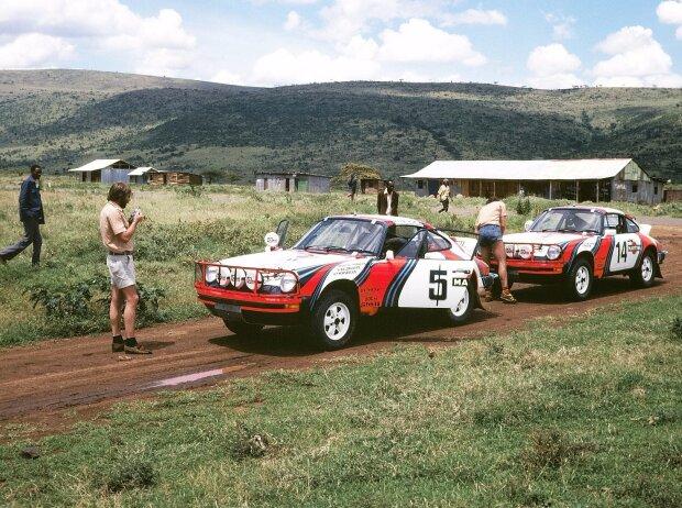 Porsche 911 SC 3,0 bei der East-African-Rallye 1978
