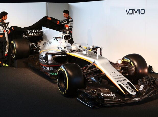 Formel-1-Autos 2017: Technische Daten des Force India VJM10