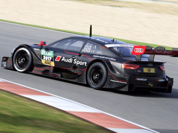 Audi DTM Test Duval