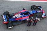 Daniil Kwjat und Carlos Sainz (Toro Rosso)