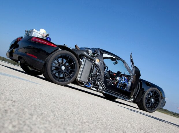 918 Spyder Rolling Chassis