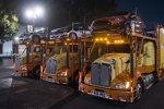 Transporter mit den WRC-Boliden