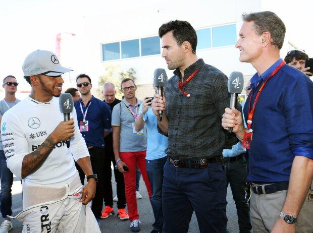 Lewis Hamilton, David Coulthard