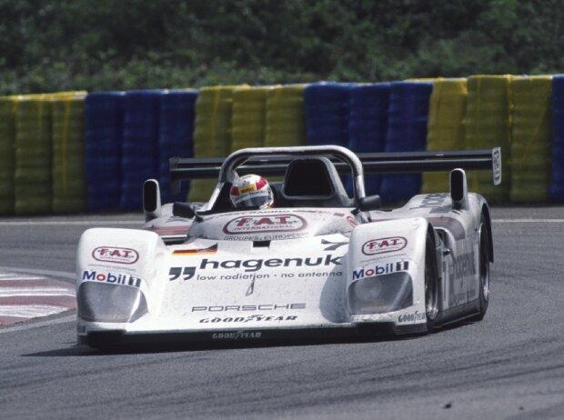 Tom Kristensen, Michele Alboreto und Stefan Johansson (Joest-TWR-Porsche)