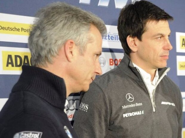 Jens Marquardt, Wolfgang Ullrich, Toto Wolff