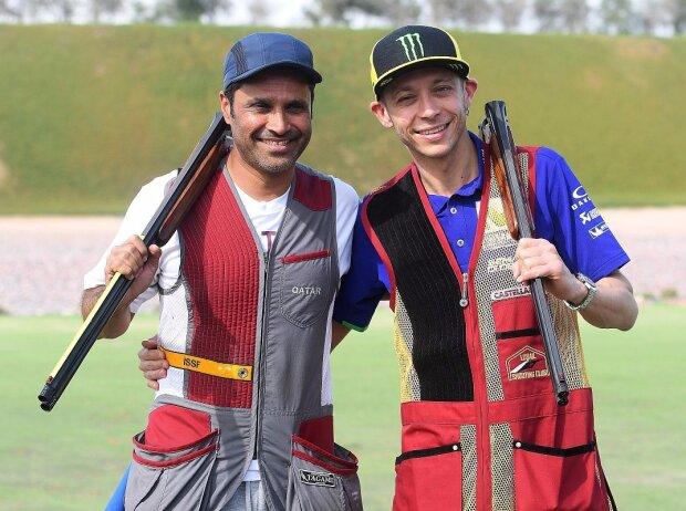 Nasser Al-Attiyah, Valentino Rossi