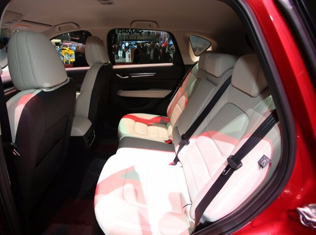 Fond mit Rückbank des Mazda CX-5 2017