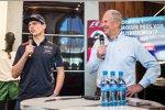 Max Verstappen und Helmut Marko (Red Bull)