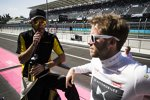 Jean-Eric Vergne (Techeetah) und Sam Bird (DS Virgin)