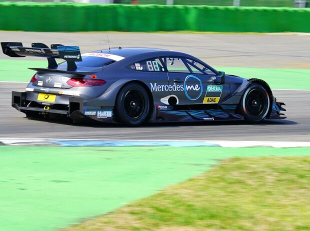 Gary Paffett DTM-Test Hockenheim