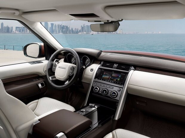 Innenraum des Land Rover Discovery