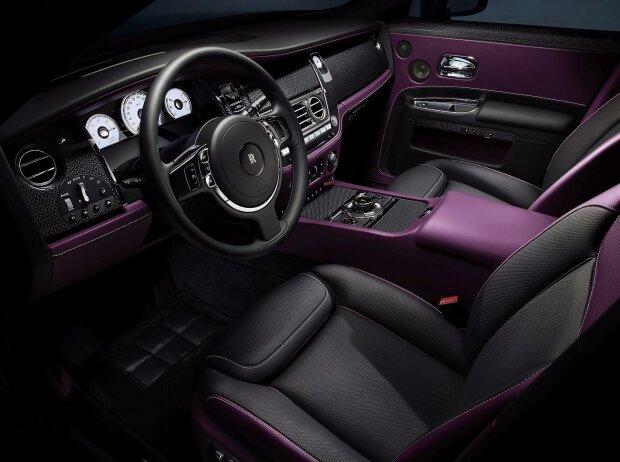 Innenraum des Rolls Royce Ghost Black Badge