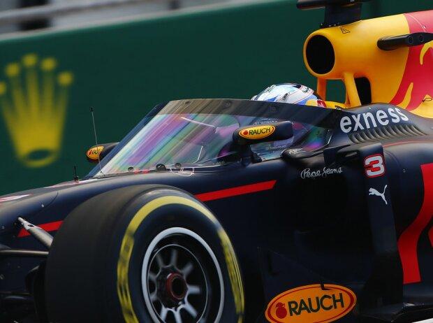 Daniel Ricciardo mit Aeroscreen (Windschutzscheibe)