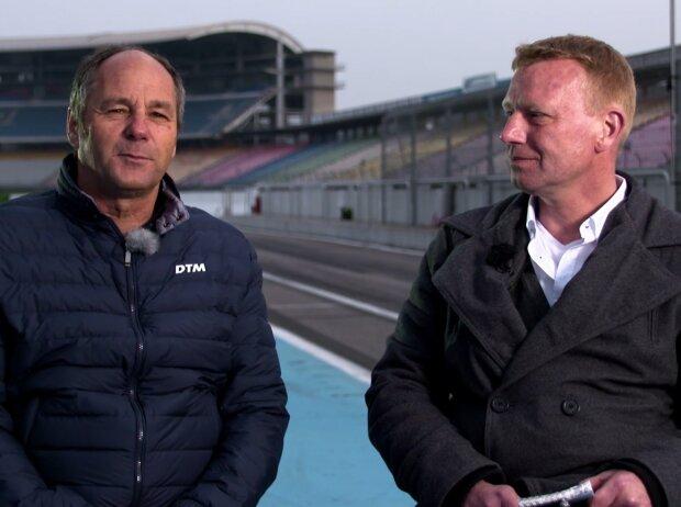 Gerhard Berger und Roman Wittemeier