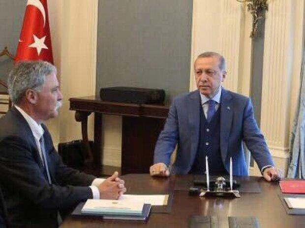 Chasey Carey und Recep Erdogan