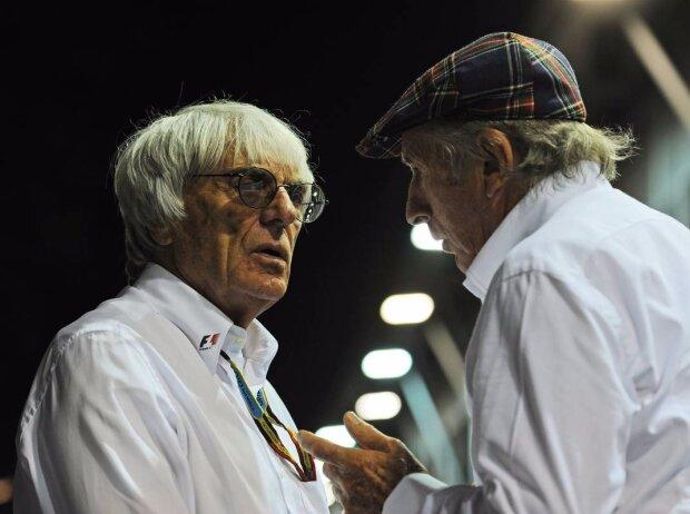 Bernie Ecclestone, Jackie Stewart