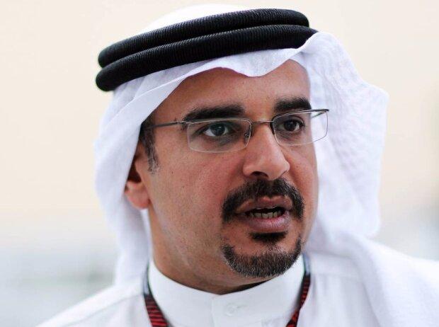 Kronprinz Salman bin Hamad bin Isa al Chalifa