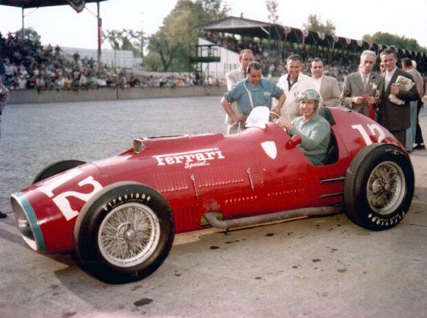 Alberto Ascari 1952 beim Indy 500