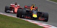 Max Verstappen vor Sebastian Vettel