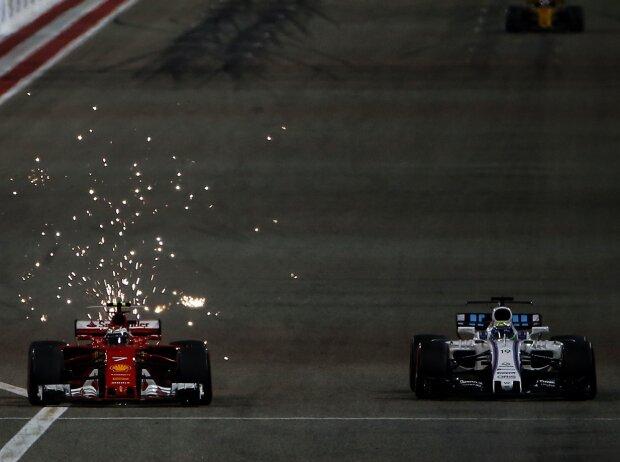 Felipe Massa, Kimi Räikkönen