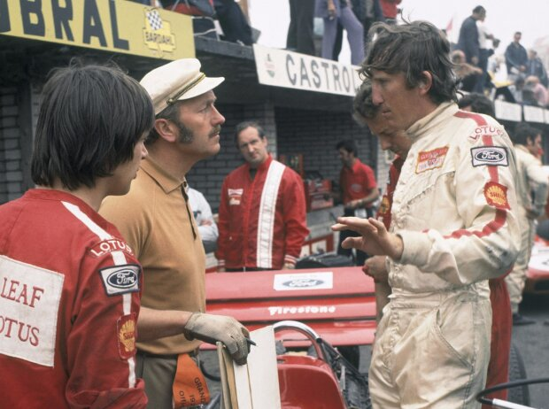 Jochen Rindt, Colin Chapman