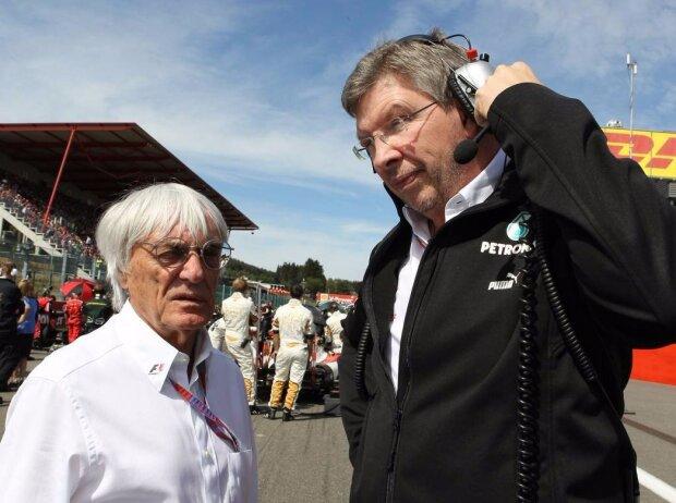 Bernie Ecclestone, Ross Brawn