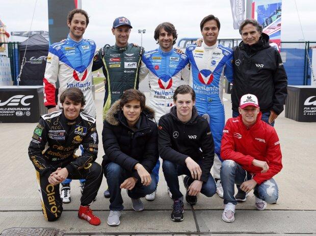 Bruno Senna, Mathias Lauda, Nelson Piquet Jun., Pietro Fittipaldi, Pedro Piquet, Harrison Newey, Mick Schumacher