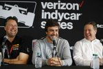 Michael Andretti, Fernando Alonso und Zak Brown