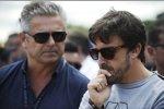 Gil de Ferran und Fernando Alonso (McLaren)