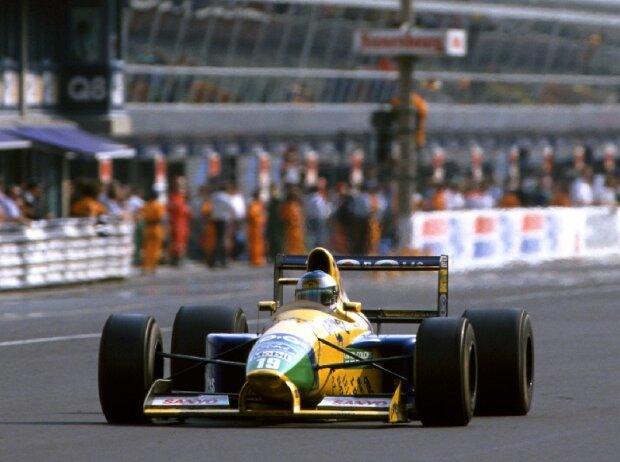 Michael Schumacher Monza 1991