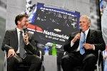 Dale Earnhardt jun. und Rick Hendrick
