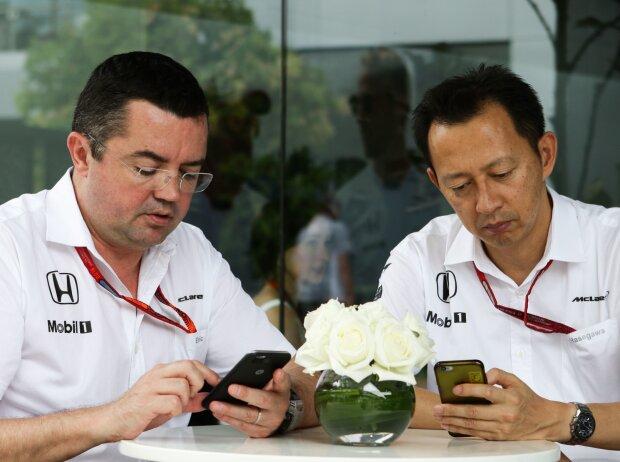 Eric Boullier und Yusuke Hasegawa