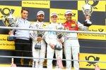 Timo Glock (RMG-BMW) und Lucas Auer (HWA-Mercedes 3)