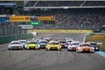 Jamie Green (Rosberg-Audi), Timo Glock (RMG-BMW) und Gary Paffett (HWA-Mercedes)