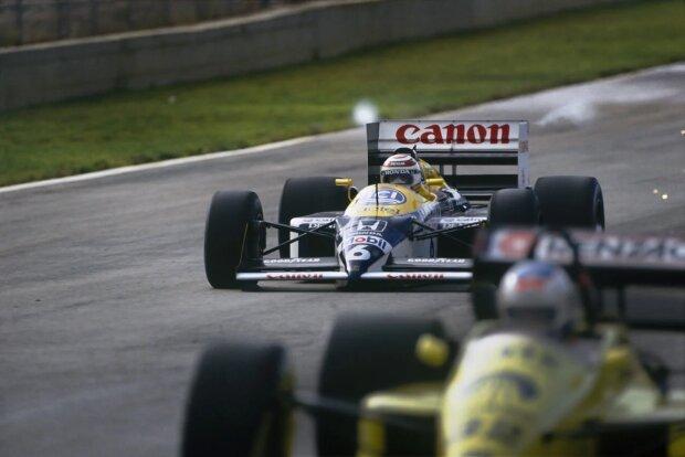 Nelson Piquet Jun. Williams Williams Martini Racing F1 ~Nelson Piquet Jun. ~