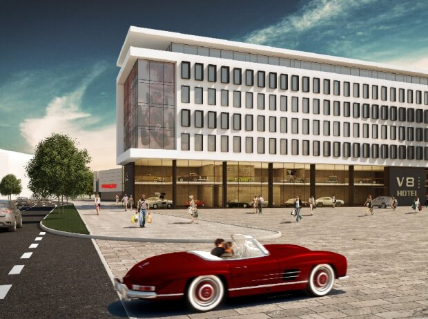 V8 Hotel Motorworld Stuttgart