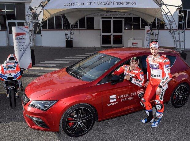 SEAT und Ducati geben in der MotoGP Weltmeisterschaft Gas