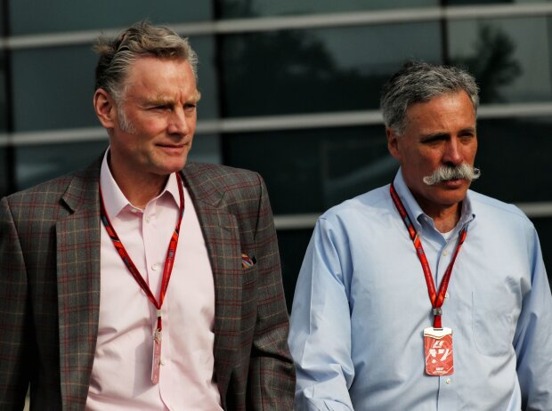 Sean Bratches und Chase Carey