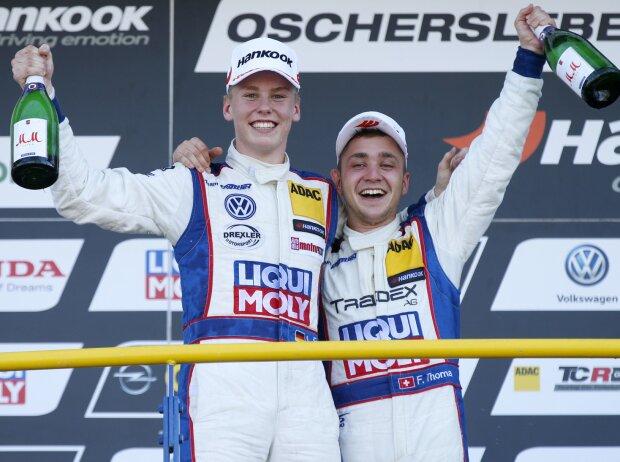 Luca Engstler und Florian Thoma