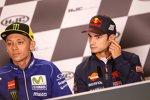 Valentino Rossi und Daniel Pedrosa