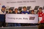 Fahrer richten Genesungswünsche an Nicky Hayden